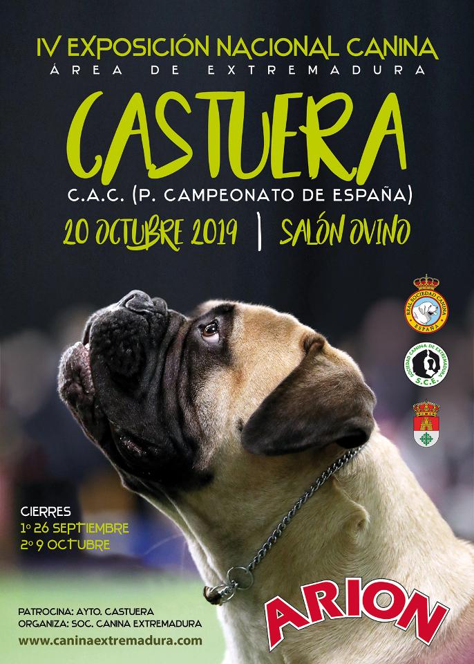 Exposición Nacional Canino Castuera