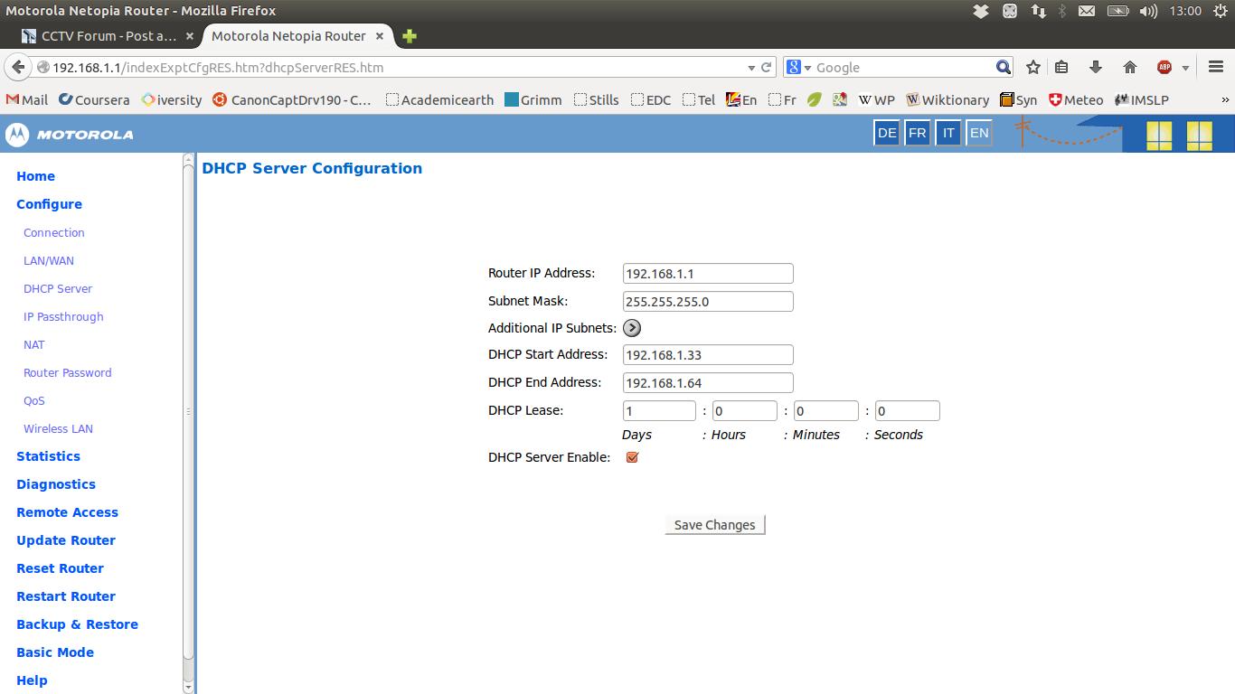 Hikvision DS-2CD2632F-IS under Ubuntu Linux? - IP/Megapixel