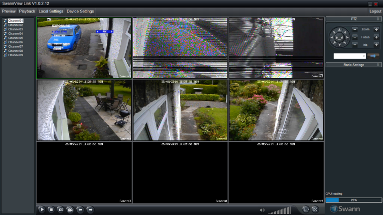 2 new additional cameras faulty - Security Cameras
