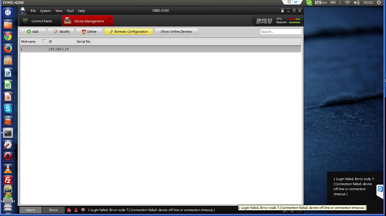 iVMS4200 Linux (BETA) on Hikvision Download Portal - IP/Megapixel