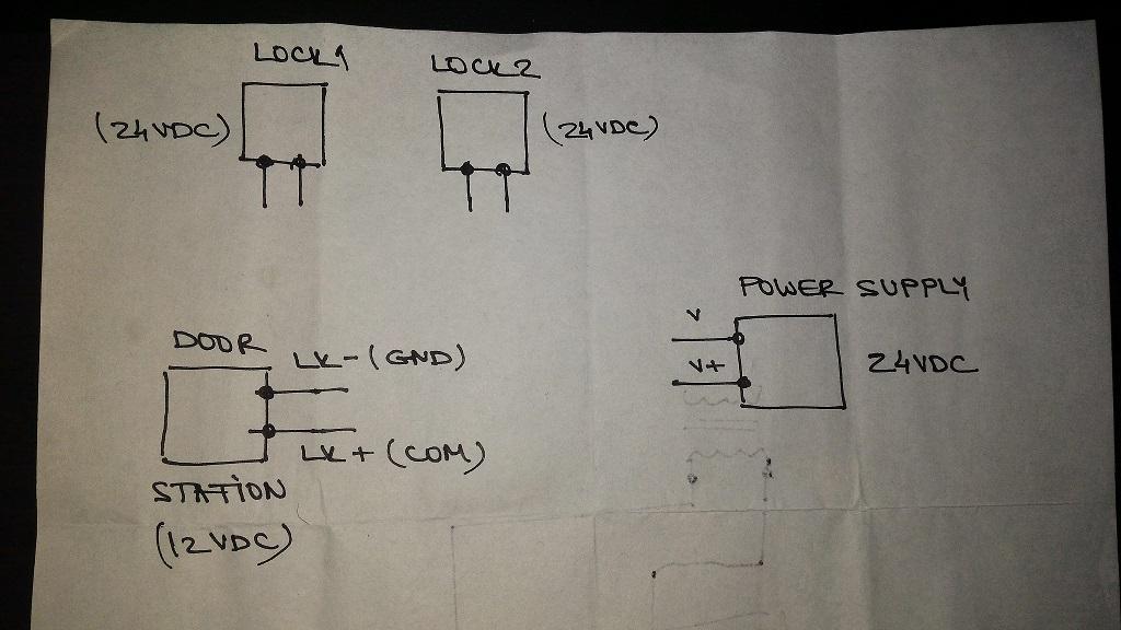 altronix relays wiring diagrams wiring help 24vdc door strikes to 12vdc door station general  wiring help 24vdc door strikes to