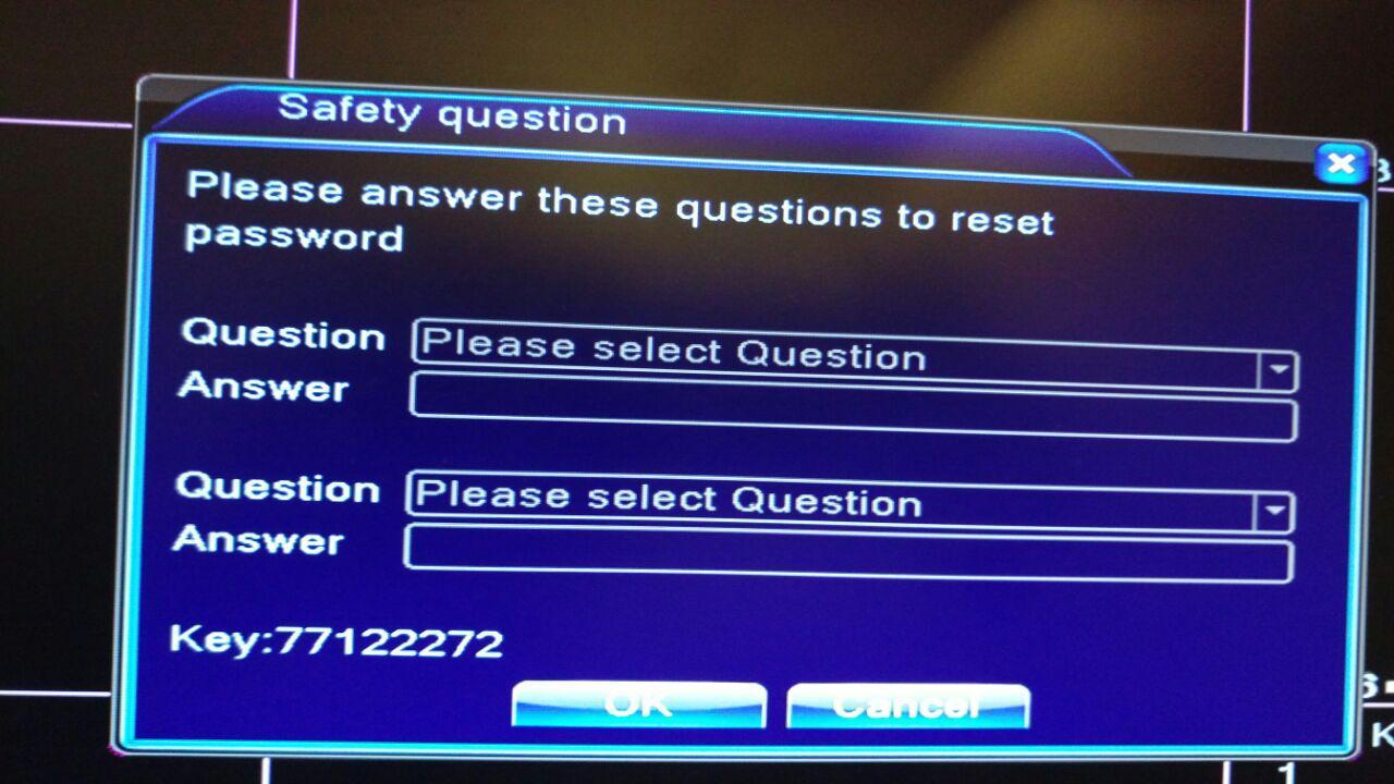 Forgot password on TMEZON dvr - General Digital Discussion