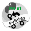 PyBites Firstpr badge