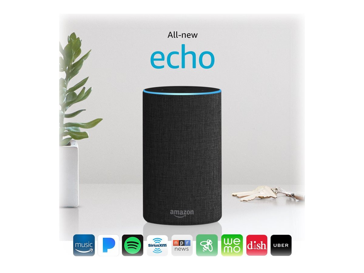 Image for Amazon Echo (2Nd Generation) - Smart Speaker from Circuit City