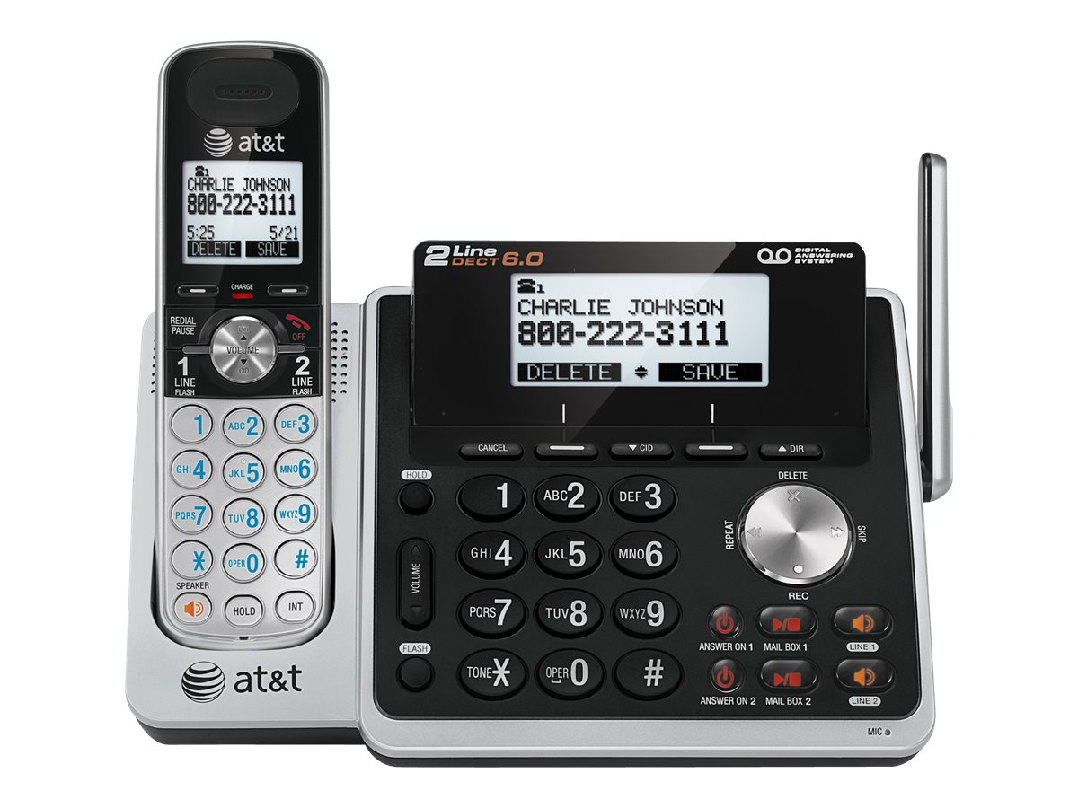 Image for At&T - Cordless Phone - Answering System With Caller Id/Call Waiting from Circuit City