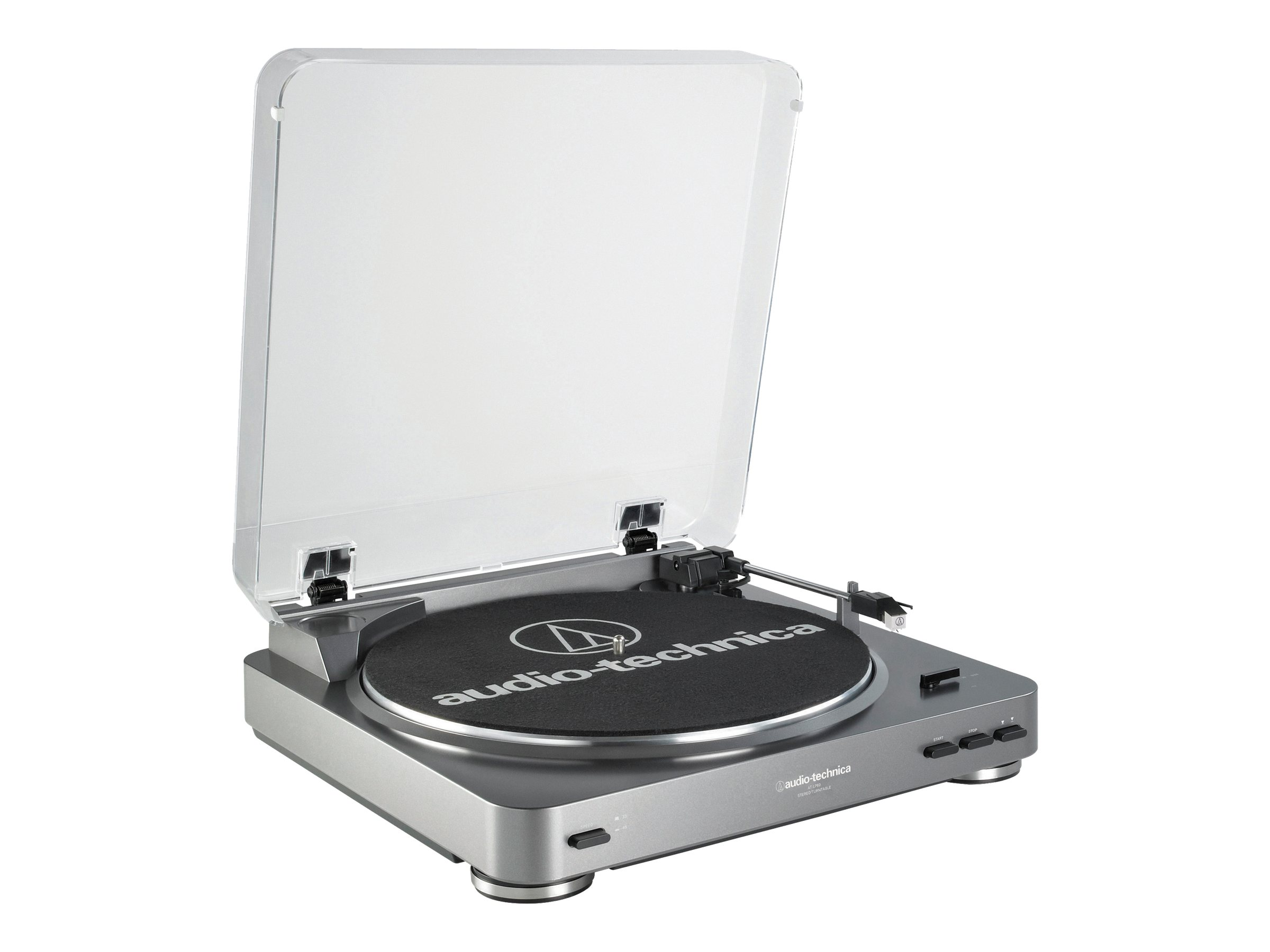 Image for Audio-Technica - LP-60 Stereo Turntable - Silver from Circuit City