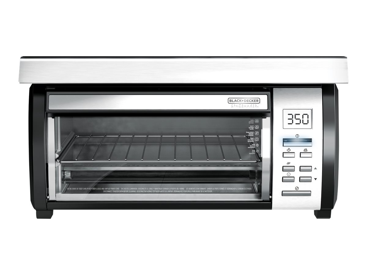 Black Decker Spacemaker Electric Oven Silver Circuit City Cooker Image For From