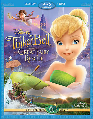 Image for Tinker Bell & The Great Fairy Rescue (Br/Dvd/Sp-Fr-Both) from Circuit City