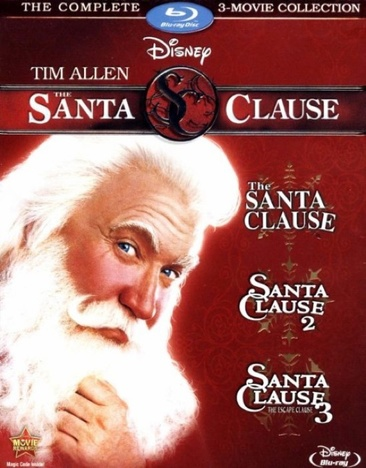 Image for Santa Clause 3-Movie Collection (Blu-Ray/3 Disc/Eng-Fr-Sp Sub) from Circuit City