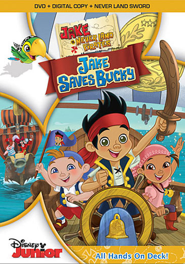 Image for JAKE & THE NEVERLAND PIRATES-JAKE SAVES BUCKY (DVD/DC/SWORD)  NLA from Circuit City