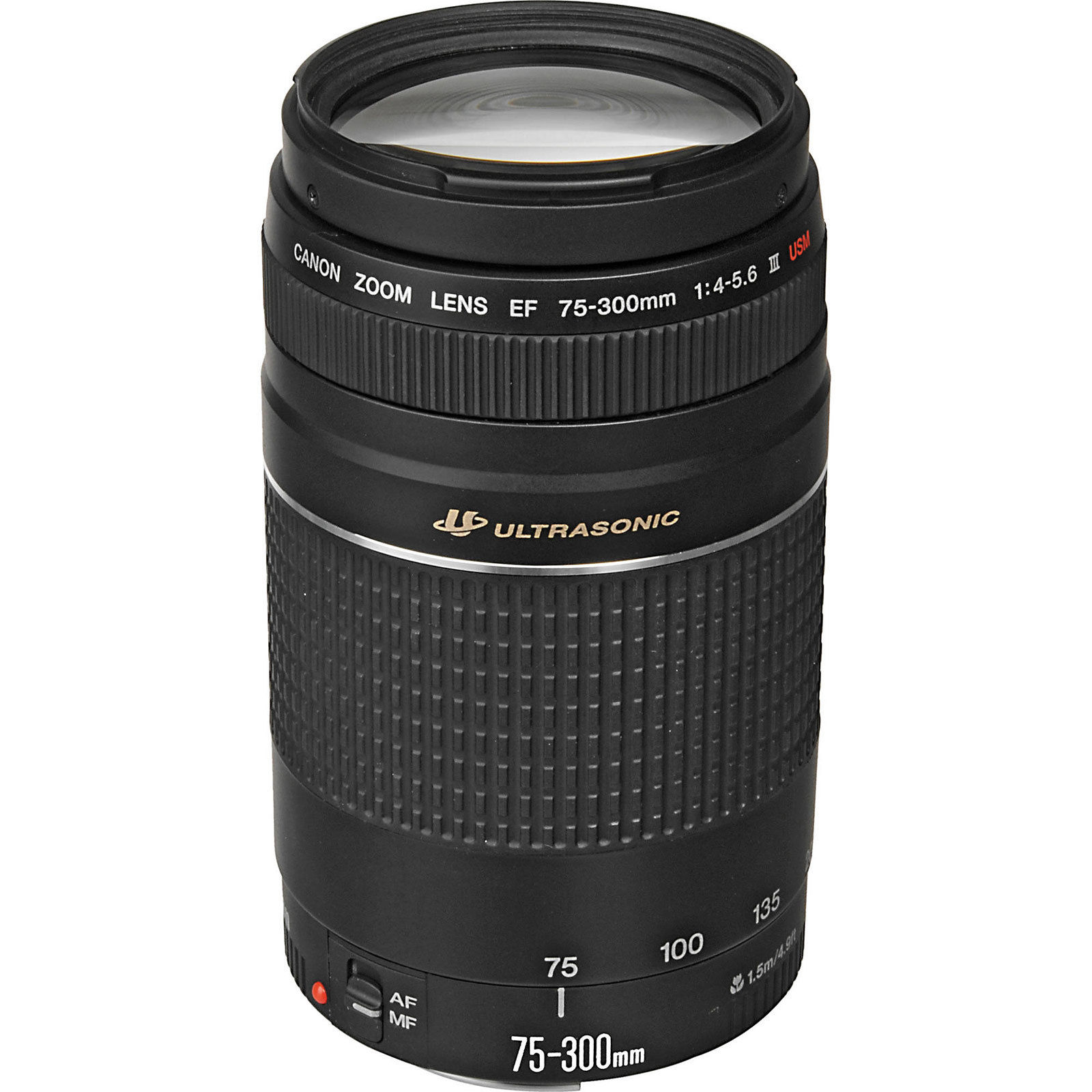 Image for Canon Ef 75-300Mm F/4-5.6 Iii Usm Telephoto Zoom Lens For  Slr Cameras from Circuit City