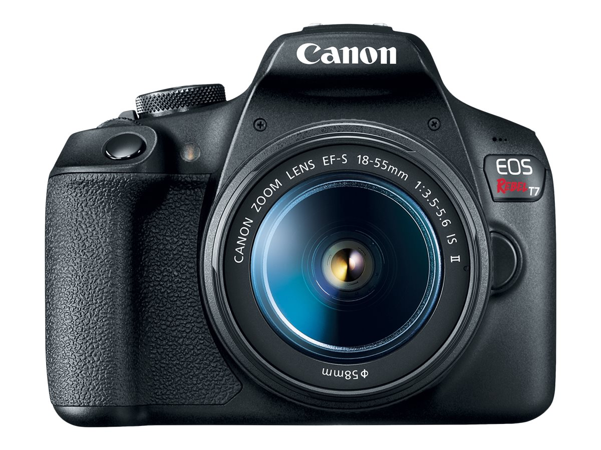 Image for Canon EOS Rebel T7 - digital camera EF-S 18-55mm IS II lens from Circuit City