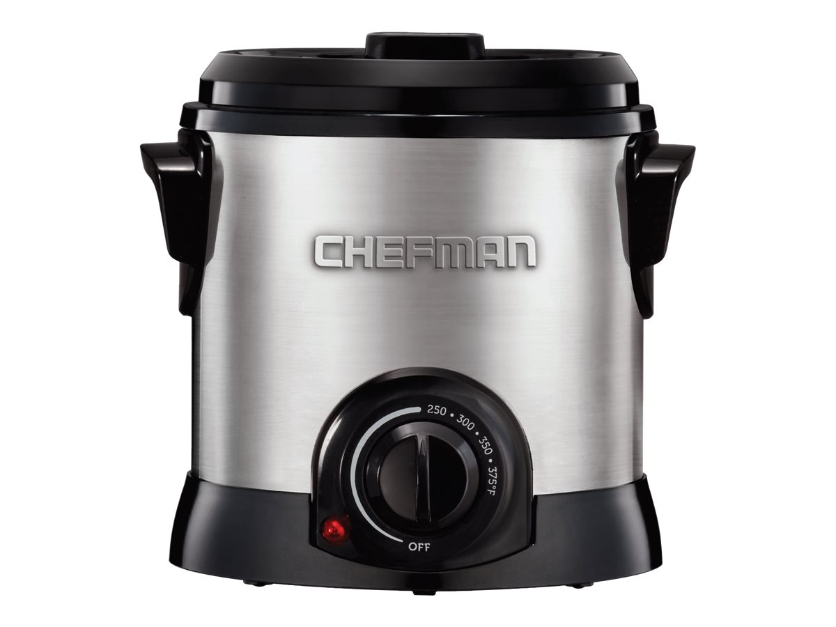 Image for Chefman Fry Guy - Deep Fryer - Stainless Steel from Circuit City