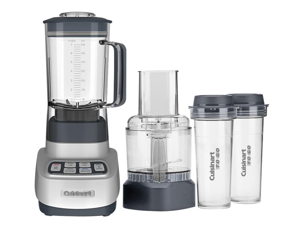 Image for Cuisinart - Velocity Ultra Trio 56-Oz. Countertop Blender and Food Processor - Silver from Circuit City