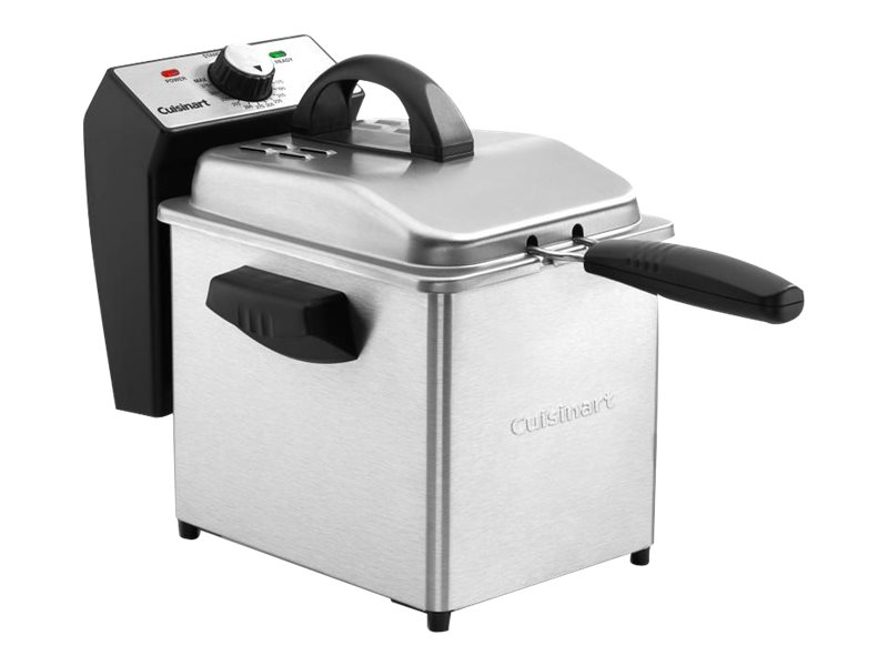 Image for Cuisinart - deep fryer - stainless steel from Circuit City