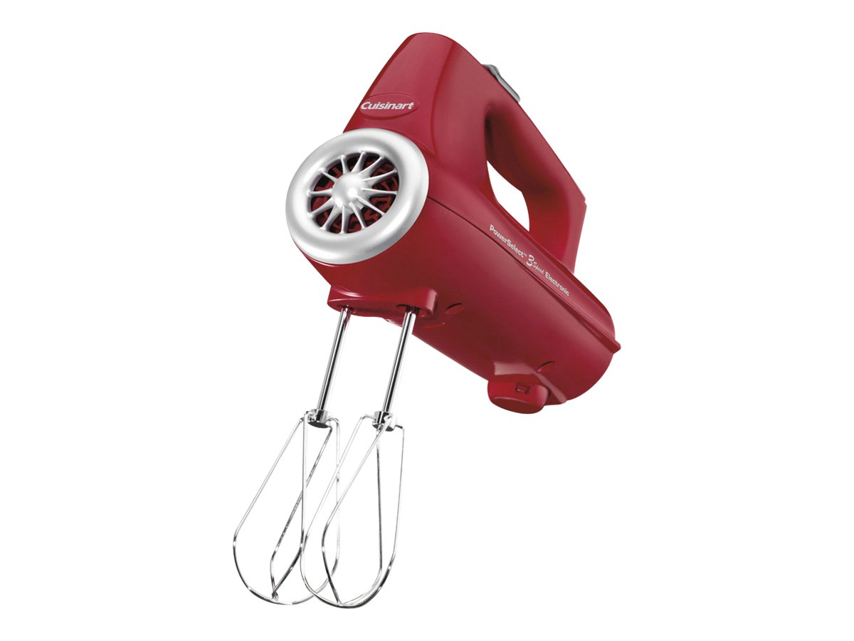 Image for Cuisinart - PowerSelect 3-Speed Hand Mixer - Red from Circuit City