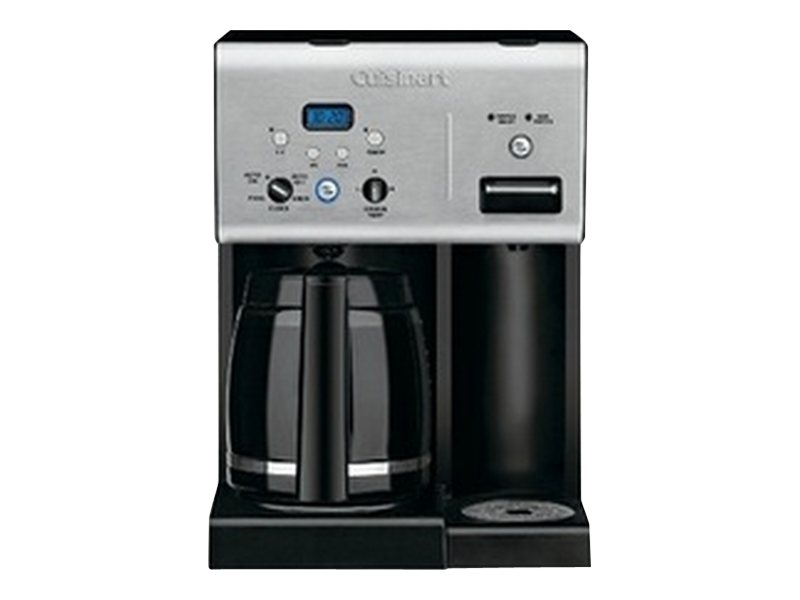 Image for Cuisinart Coffee Plus 12-Cup Programmable Coffeemaker with Hot Water System from Circuit City