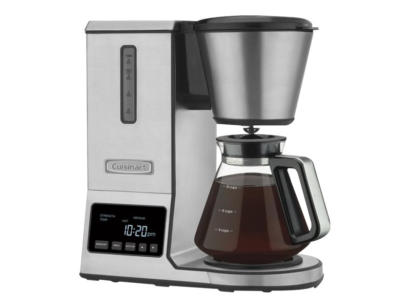 Image for Cuisinart PurePrecision 8 Cup Pour Over Coffee Brewer Glass Carafe from Circuit City