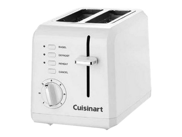 Image for Cuisinart - 2-Slice Wide-Slot Toaster - White from Circuit City