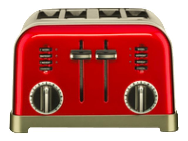 Image for Cuisinart Metal Classic 4-Slice Toaster, Metallic Red from Circuit City