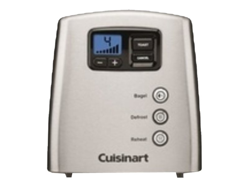 Image for Cuisinart - Touch to Toast Leverless 2-Slice Toaster  - Brushed Stainless Steel from Circuit City