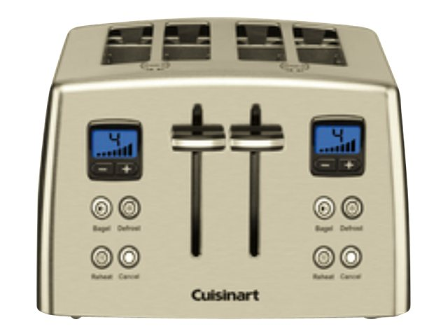 Image for Cuisinart Countdown 4-Slice Stainless Steel Toaster from Circuit City
