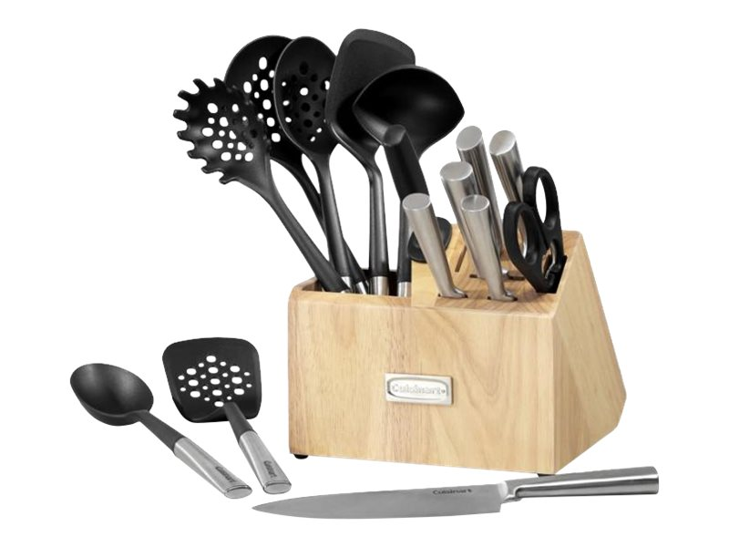 Image for Cuisinart 16PC CUTLERY & TOOL BLOCK SET from Circuit City