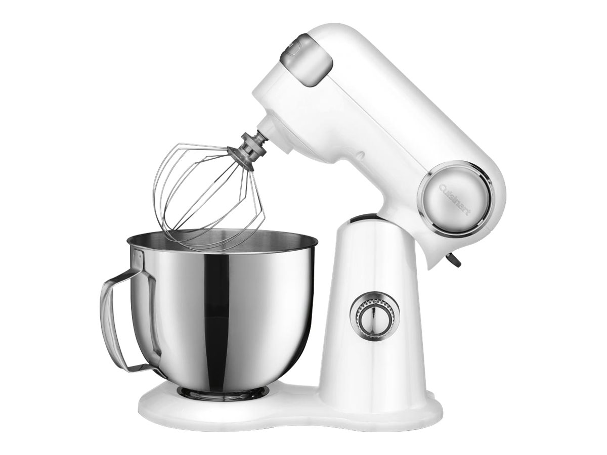 Image for Cuisinart - SM-50 Precision Master Tilt-Head Stand Mixer - White/Stainless Steel from Circuit City