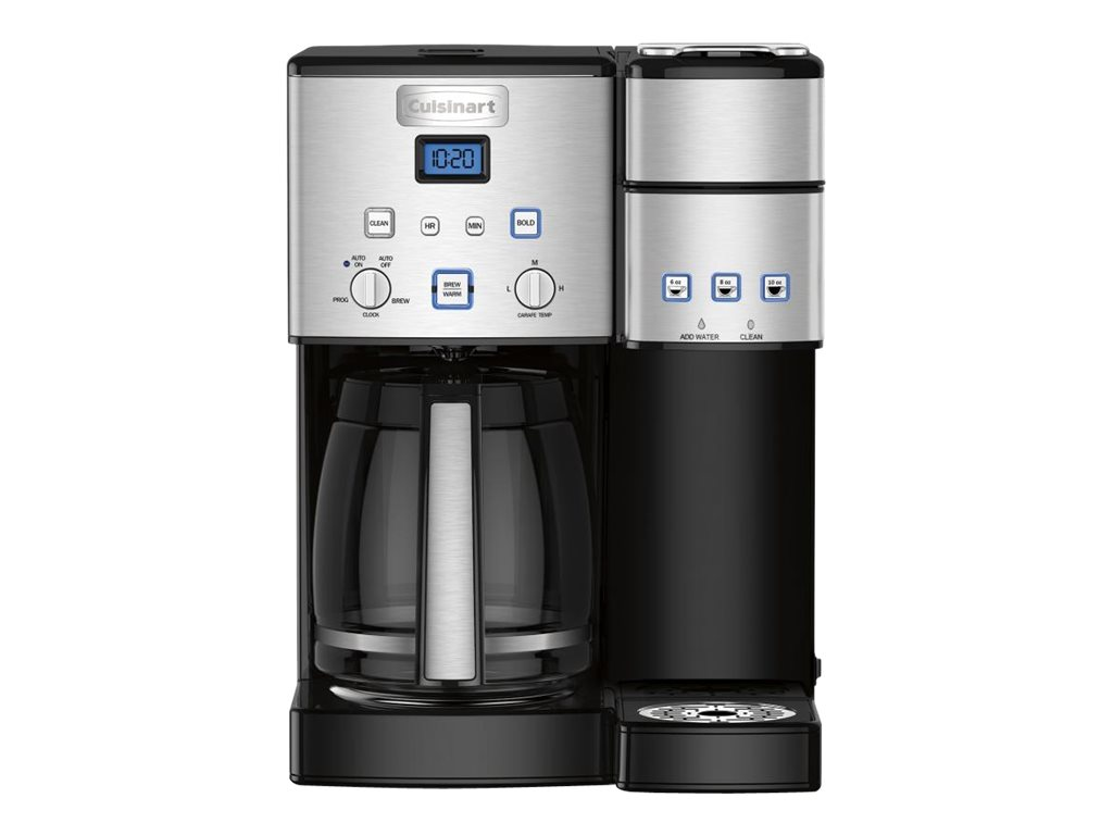 Image for Cuisinart Coffee Center - Coffee Maker - Black/Stainless from Circuit City