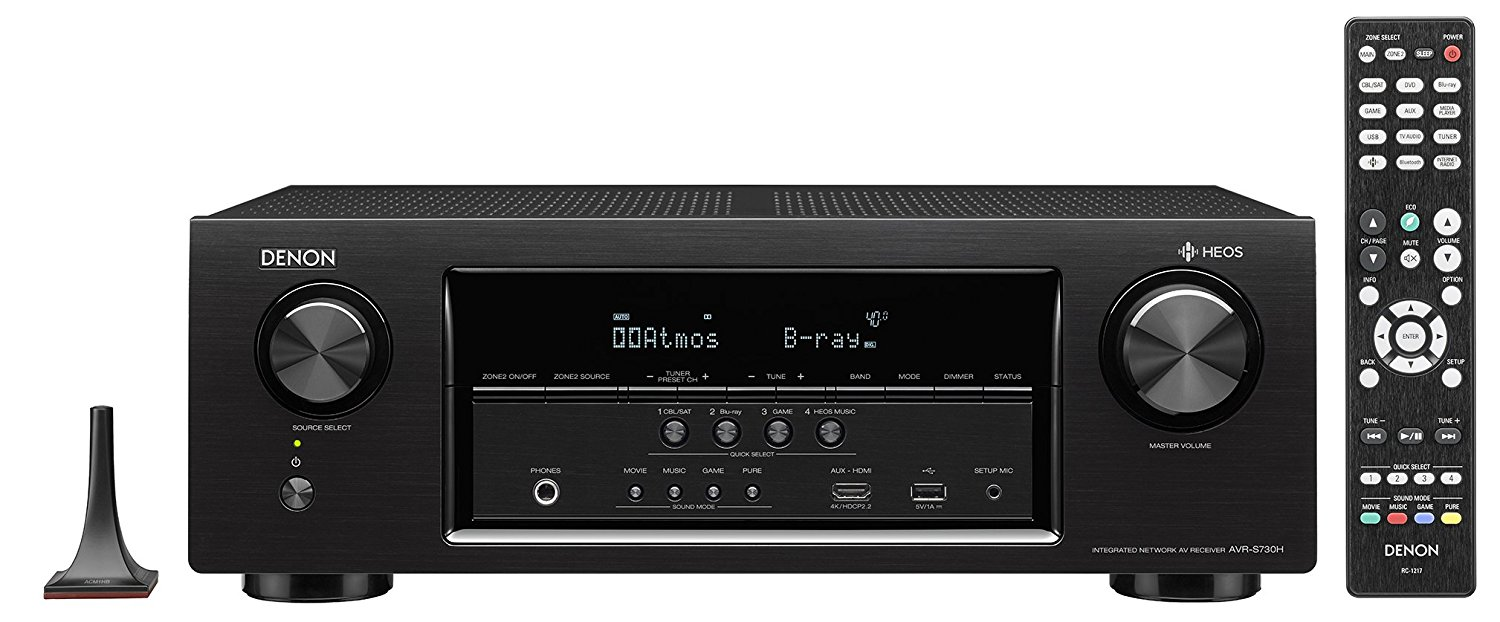 Image for Denon 7.2 Channel AV Receiver with Built-in HEOS wireless technology from Circuit City
