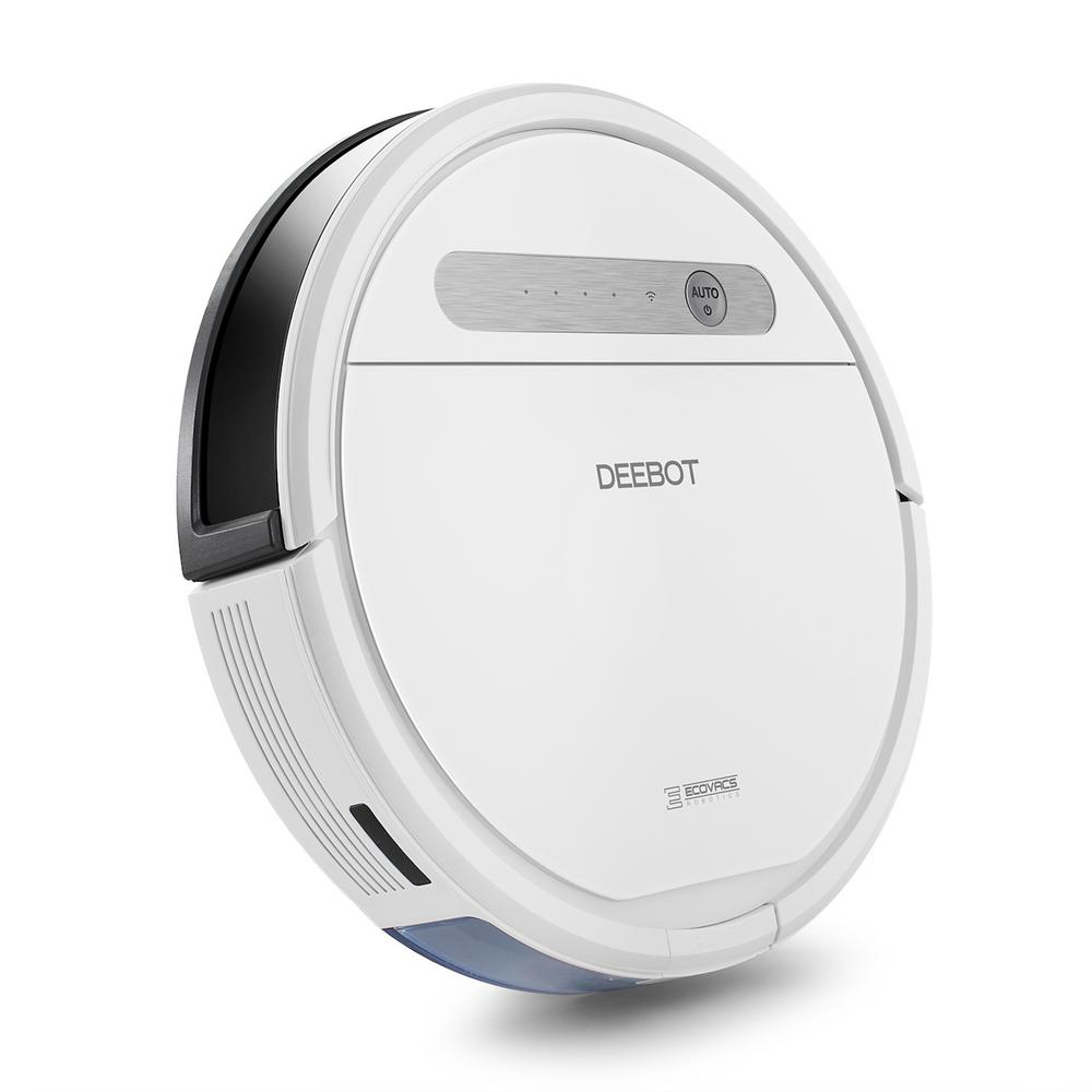 Image for ECOVACS Robotics - DEEBOT OZMO 610 App-Controlled Self-Charging Robot Vacuum & Mop - White from Circuit City