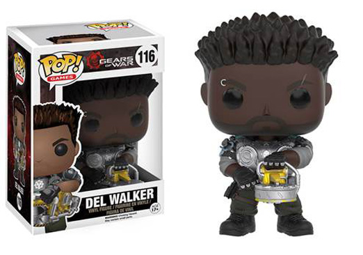 Image for POP! Games Gears of War - Del Walker from Circuit City