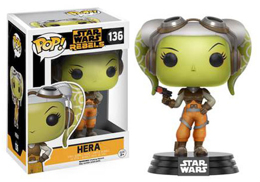 Image for Pop! Star Wars: Rebels-Hera from Circuit City
