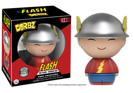 Image for Dorbz: Dc Golden Age Flash (One Time Purchase Only) from Circuit City