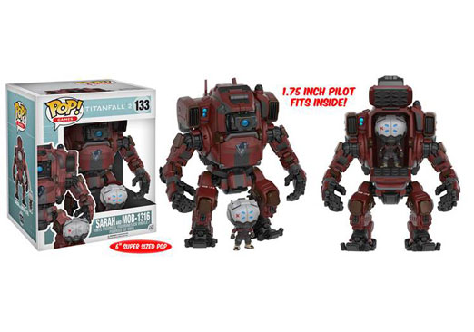 Image for POP! Games Titanfall 2 - Sarah & MOB-1316 from Circuit City