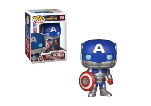 Image for Pop! Games: Marvel-Contest Of Champions-Civil Warrior from Circuit City