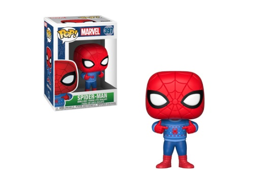 Image for POP! MARVEL: HOLIDAY SPIDER-MAN from Circuit City