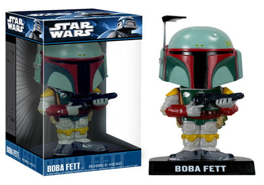 Image for Wacky Wobbler Star Wars - Boba Fett from Circuit City