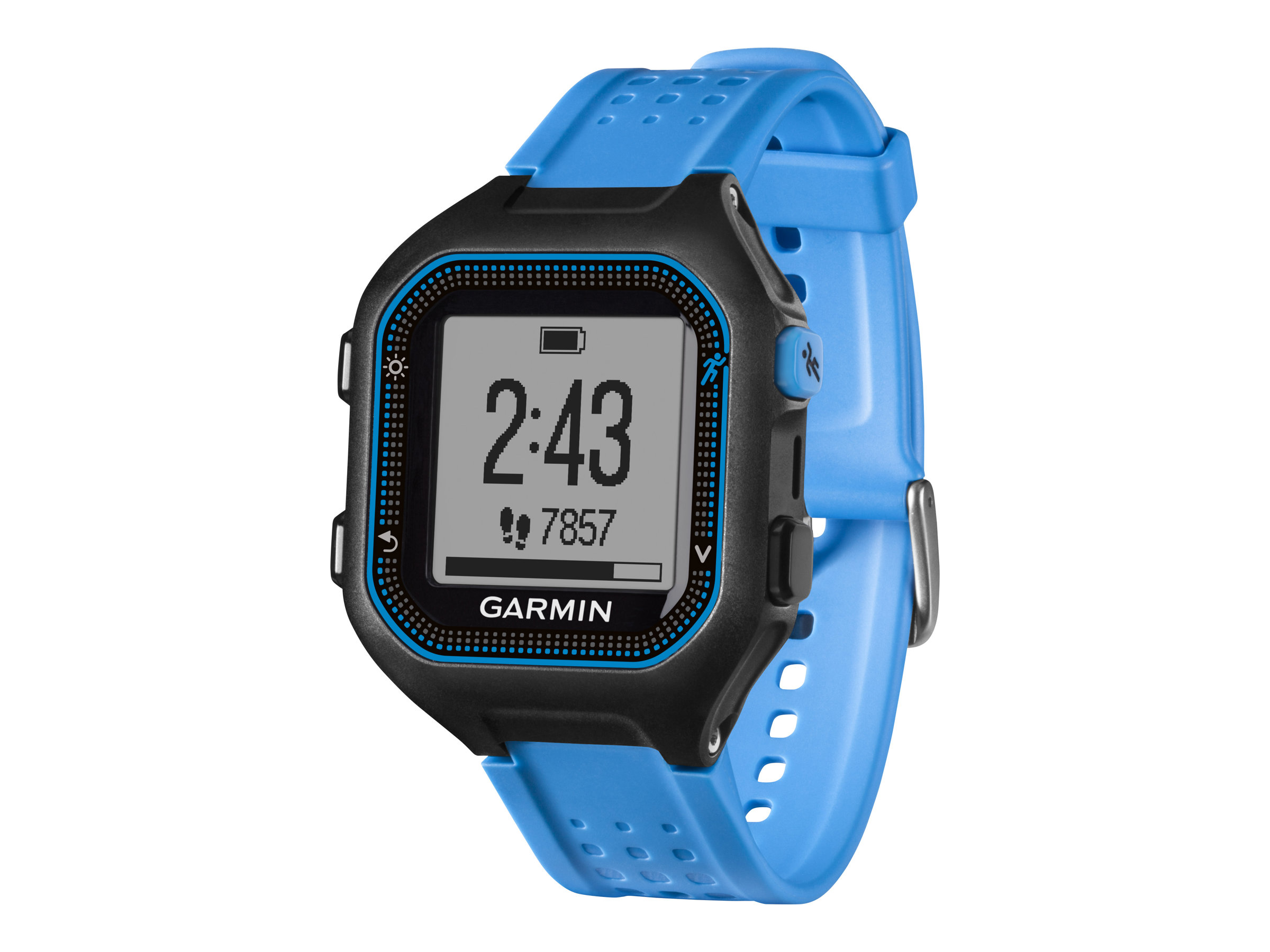 Image for Garmin Forerunner  25, Black/Blue, North America from Circuit City