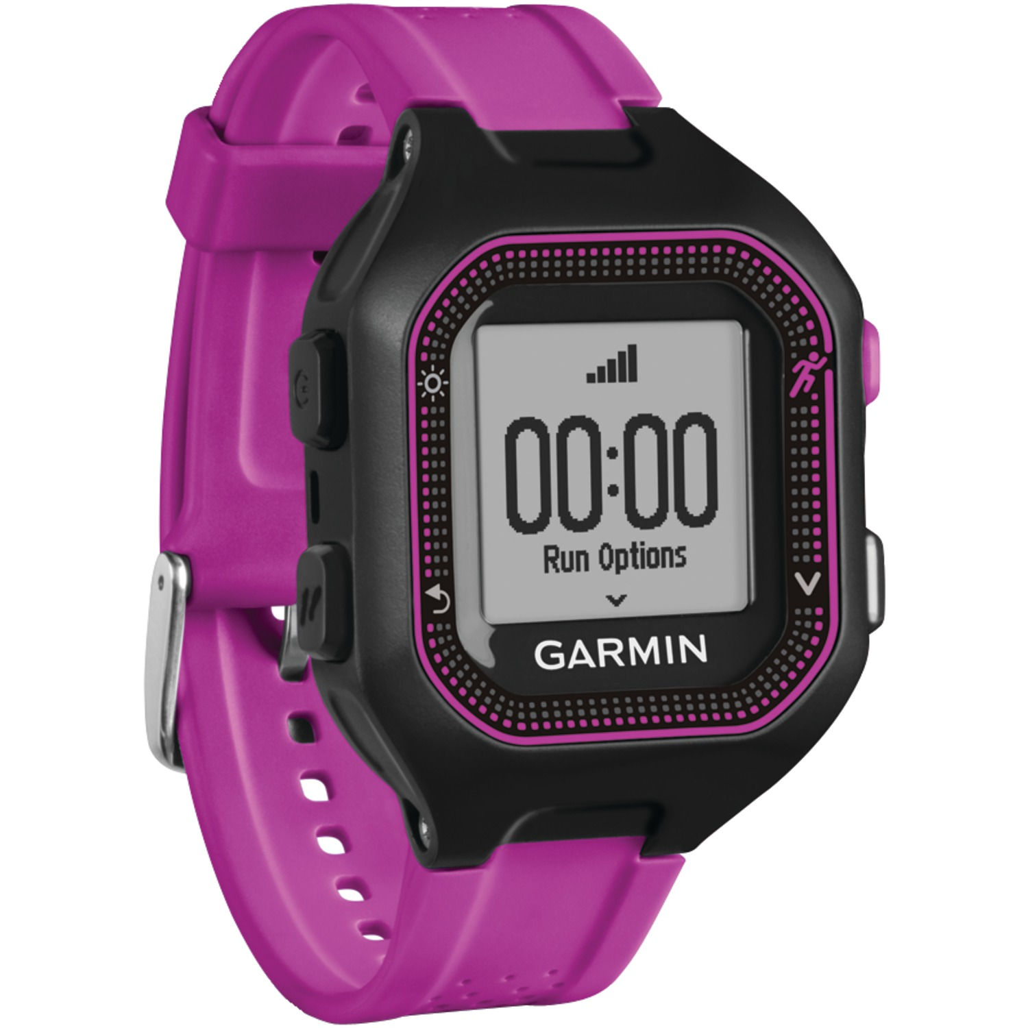 Image for Garmin Forerunner  25, Black/Purple, North America from Circuit City