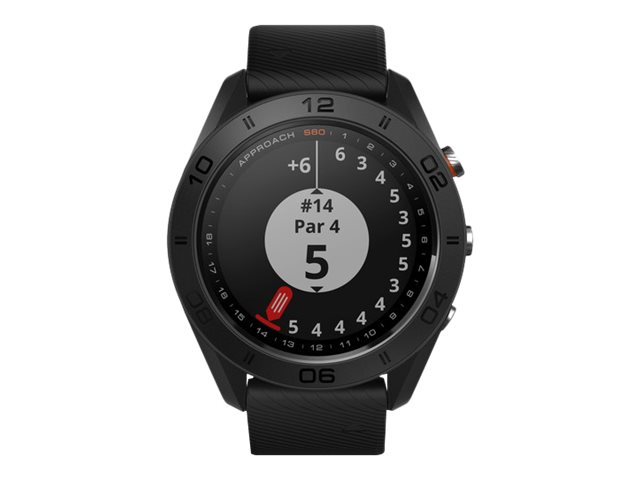 Image for Garmin Approach S60 Gps Golf Watch, Sunlight-Visible, 1.2 Display, Bluetooth/Ant+, Black from Circuit City