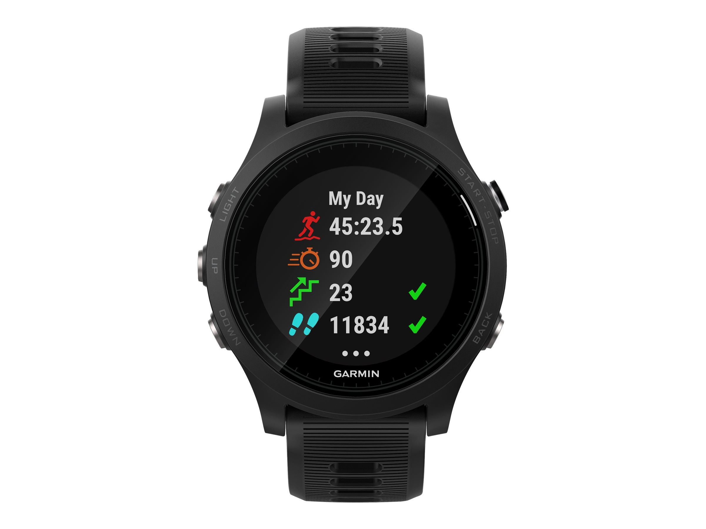Image for Garmin Forerunner 935 Premium Gps Running/Triathlon Watch, Sunlight-Visible, 1.2 Display, Black from Circuit City