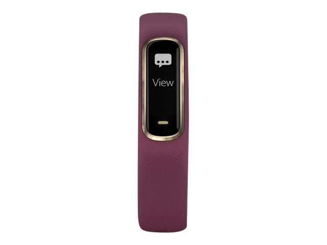 Image for Garmin vivosmart 4 - light gold - activity tracker with band - berry from Circuit City