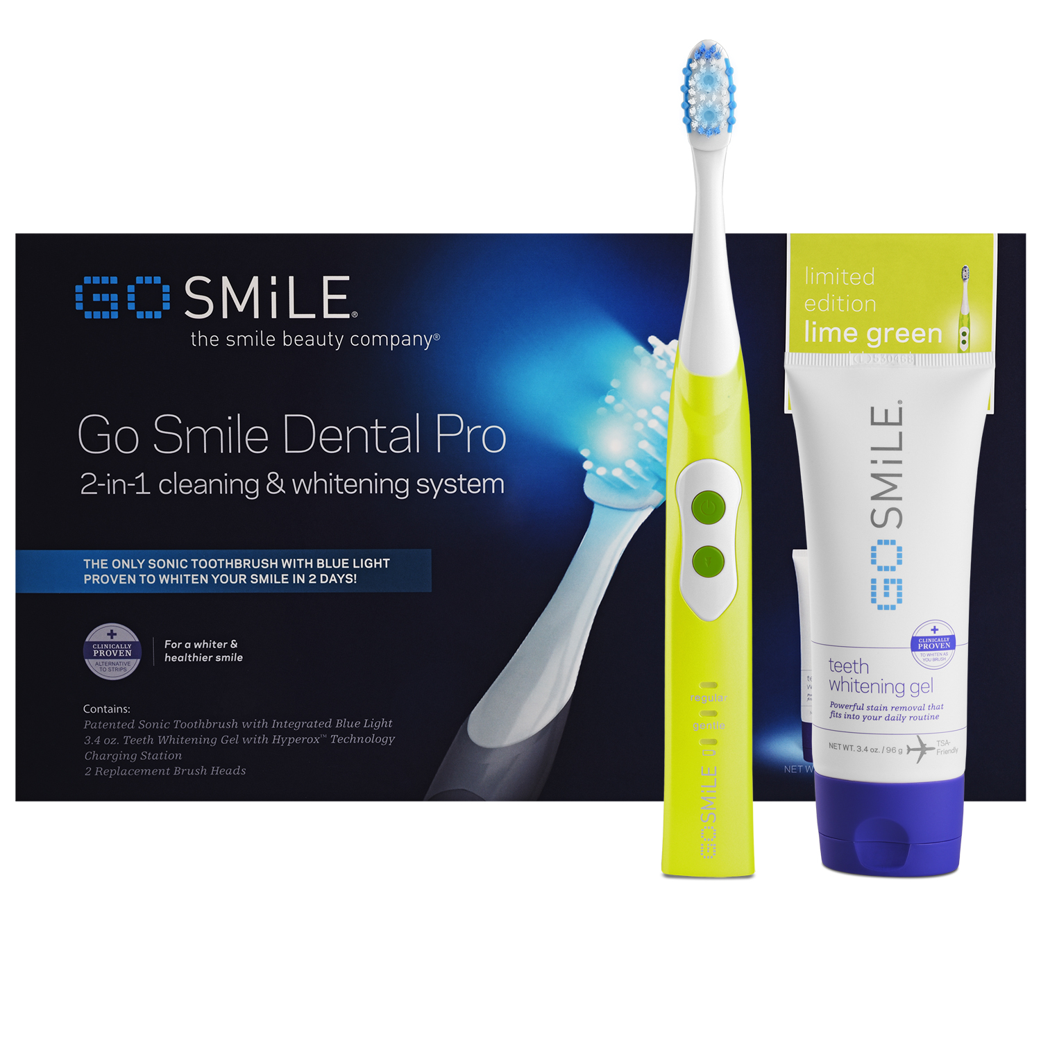 Image for Go Smile Dental Pro Teeth Whitening System (Lime Green) from Circuit City