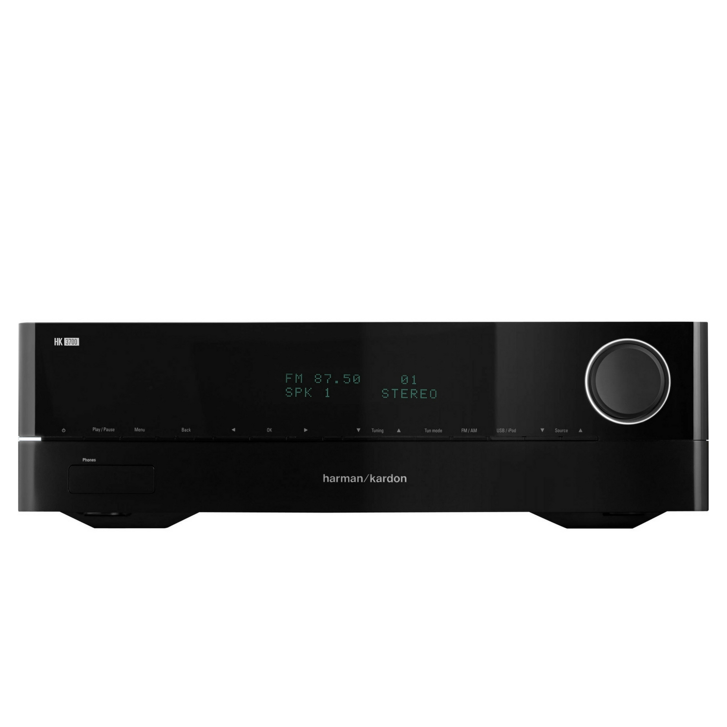 Image for Harman Kardon 2 Channel Stereo Receiver With High Current Capability Amplifiers from Circuit City