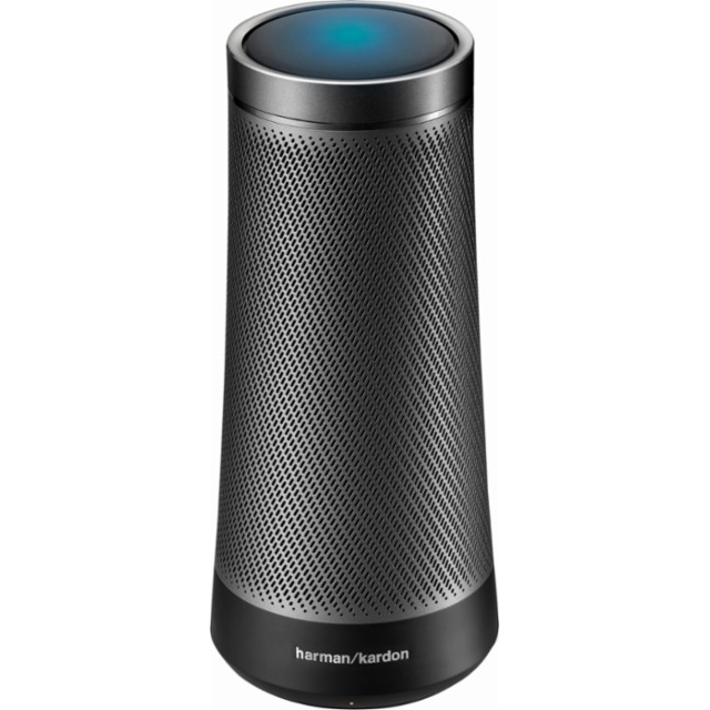 Image for Harman Kardon Voice-Activated Speaker With Cortana from Circuit City