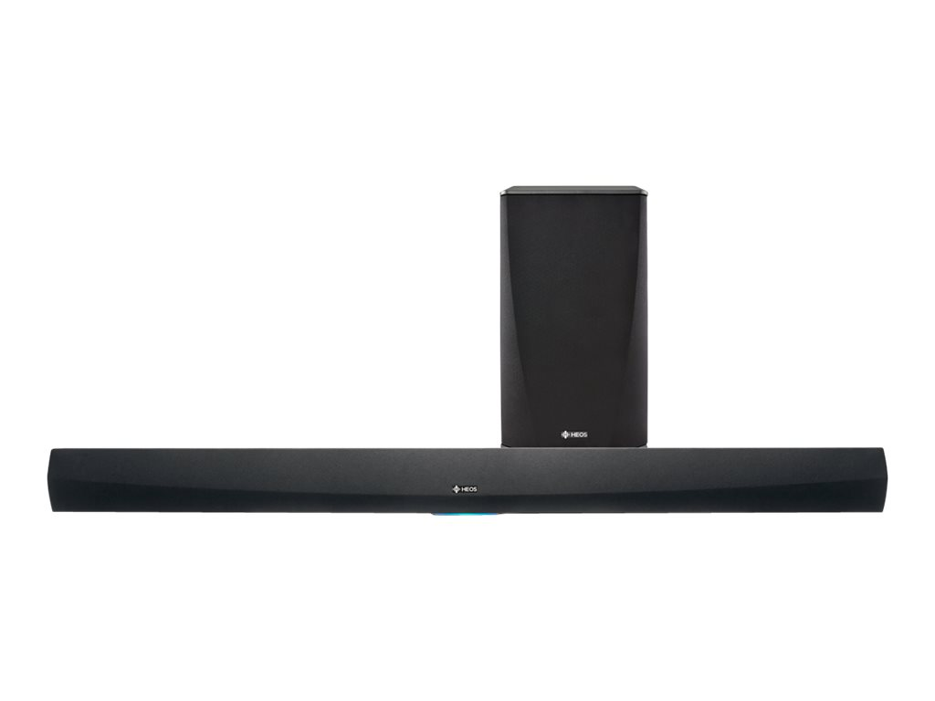 Image for Denon Heos HomeCinema - Sound bar system - for home theater - 2.1-channel - wireless - Ethernet, Wi-Fi - black from Circuit City