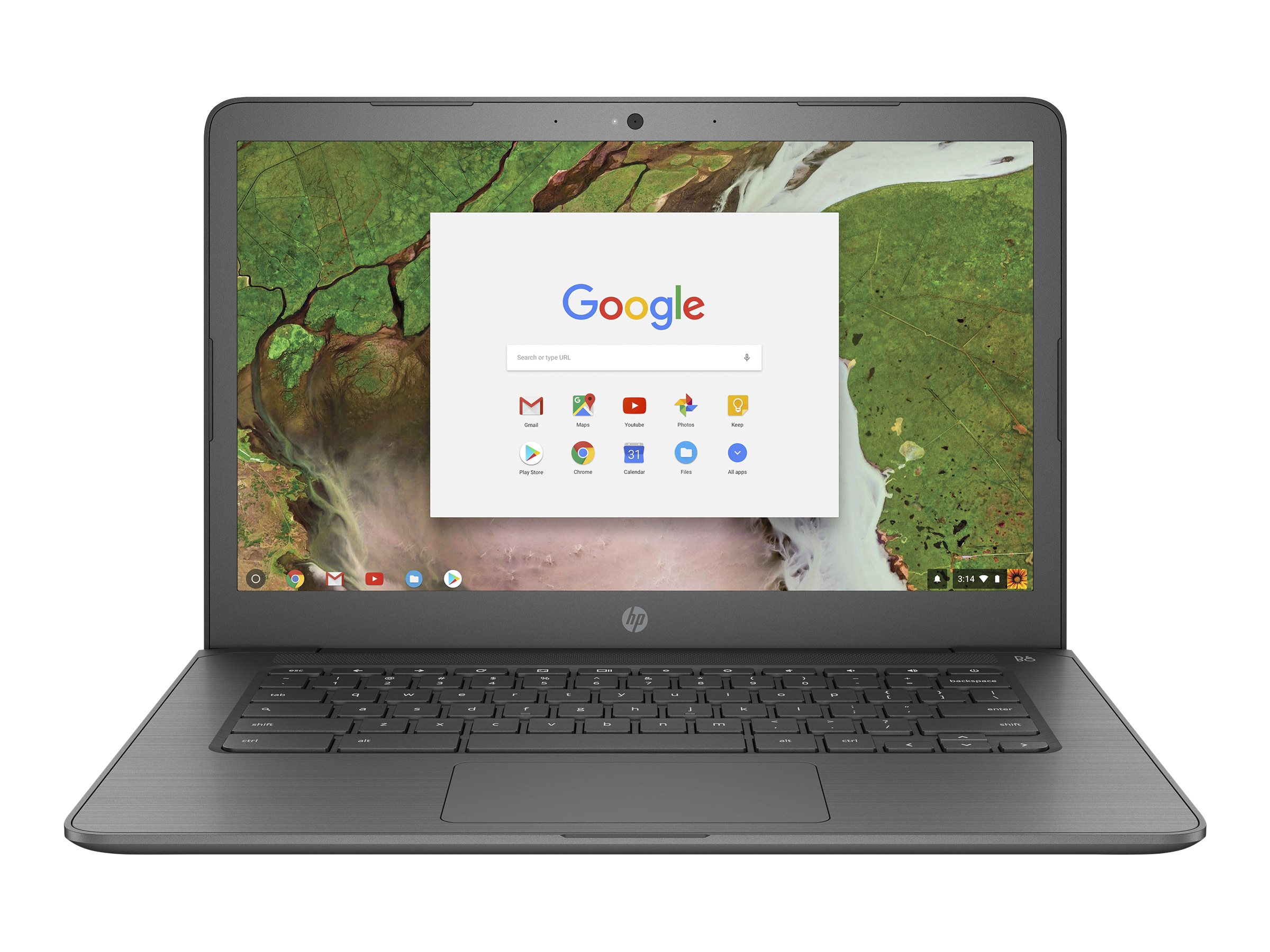"Image for HP Chromebook 14-ca020nr - 14"" - Celeron N3350 - 4 GB RAM - 32 GB SSD - US from Circuit City"