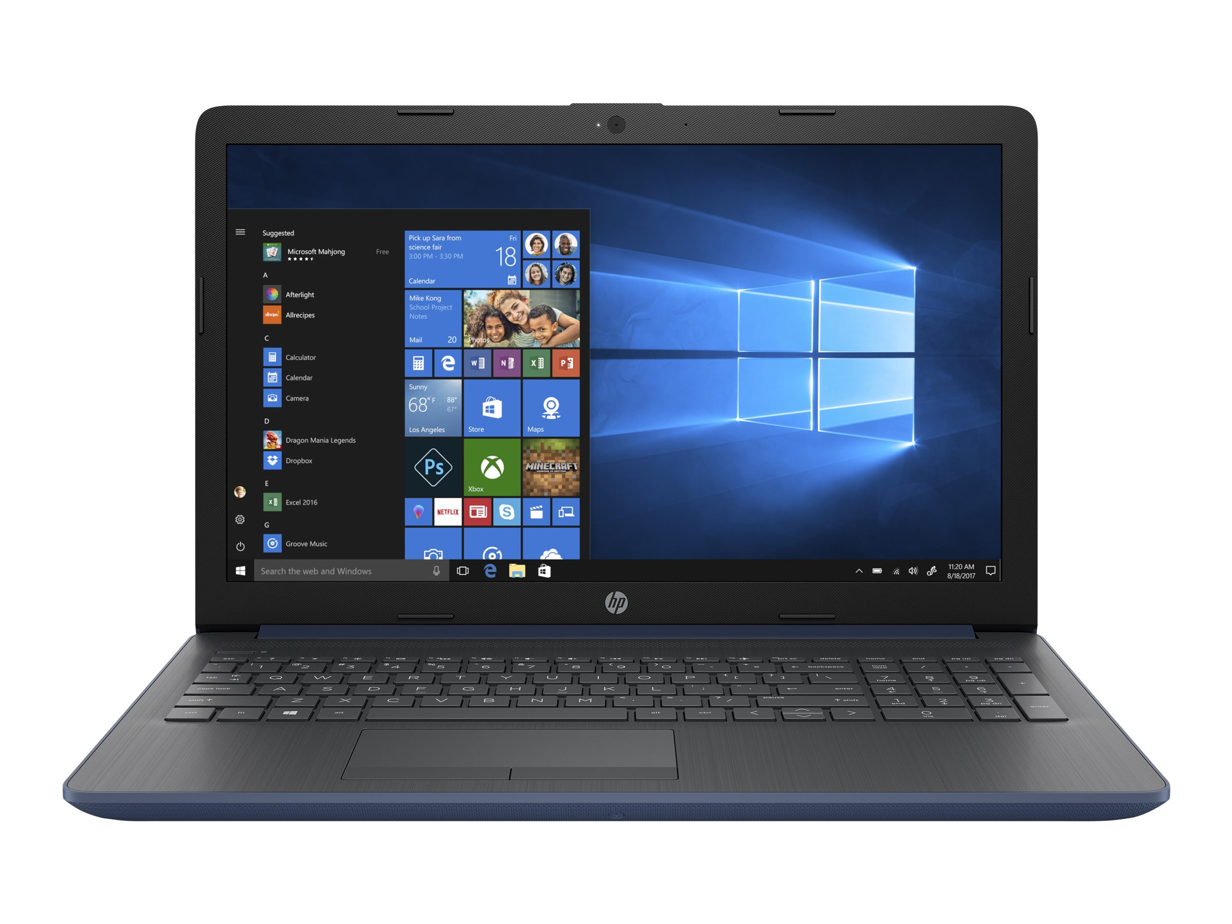 """Image for HP 15-DB0073NR - 15.6"""" Laptop - AMD A9-Series - 4GB Memory - AMD Radeon R5 - 1TB Hard Drive from Circuit City"""