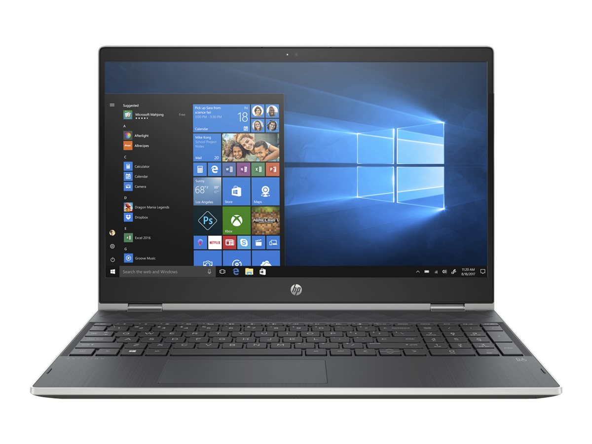 "Image for HP Pavilion x360 15-cr0075nr - 15.6"" - Core i3 8130U - 8 GB RAM - 1 TB HDD - US from Circuit City"